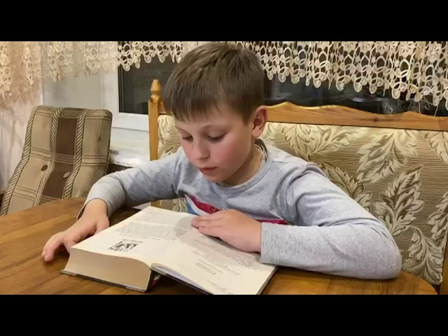 Изображение предпросмотра прочтения – ИванСвириденко читает произведение «Вечера на хуторе в близь Диканьки» Н.В.Гоголя