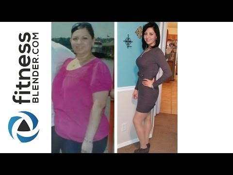 Fitness Blender Pre and post Karla Lost 81 lbs and Obtained Her Health