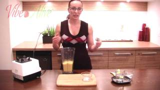 Raw Vegan Banana Mango Sorbet, Ep 2