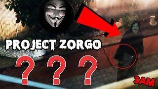 PROJECTZORGO #GAMEMASTER #3AM #RIDDLES Project Zorgo came to our ho...