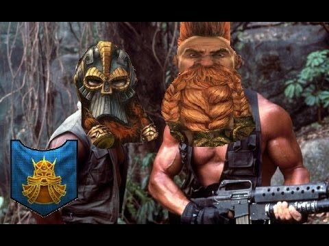 Total War Warhammer Online Battle #187: Dwarfs vs Greenskins - DAWI MONSTER SLAYERS