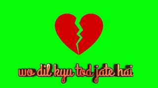 Green screen lyrics watshap stetas Shahid-rana