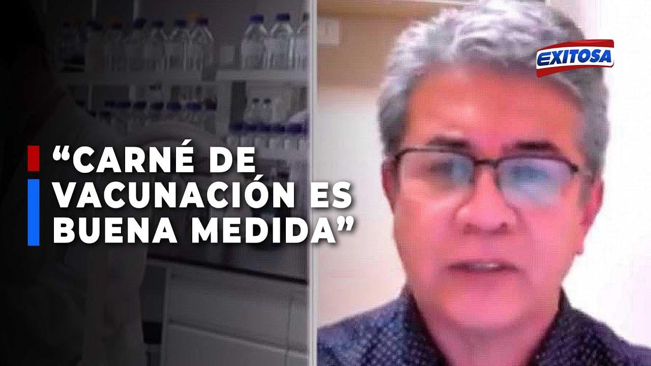 """Download 🔴🔵 Percy Minaya sobre exigencia del carné de vacunación en Ica: """"Me parece una buena medida"""""""