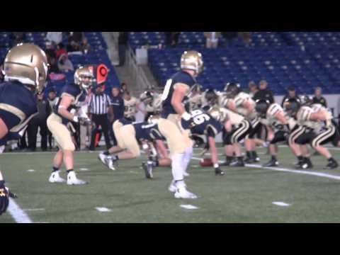 Army/Navy Sprint Football 2014 Highlights