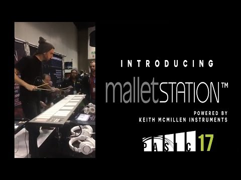 Nick Werth / malletSTATION at PASIC - FB Livestream