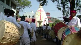 Tribal dance for worship Mankroda BHILODA, Gujarat,India.