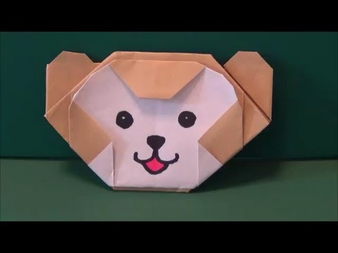 ハート 折り紙 ダッフィー 折り紙 : youtube.com