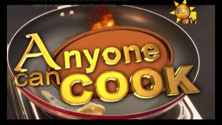 Anyone Can Cook 21-05-2017