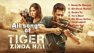 Tiger Zinda Hai- All mp3 songs of Music Times 24