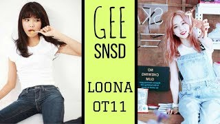 How Would? LOONA OT11 - GEE Girl's Generation (SNSD) (Color Coded / Line Distribution) - Stafaband
