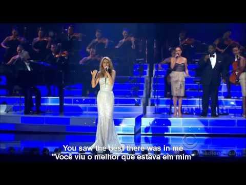 #46 Celine Dion - Because You Loved Me -- Aprenda Ingles Com Musica