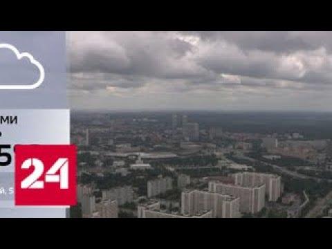 В Москве ожидается теплая и дождливая погода - Россия 24