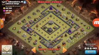 CLASH OF CLANS Mass Bowler Attack Success 3 Stars
