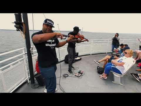 Where can the S1 Pro take you? Black Violin pop-up performance