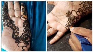 Eid special mehendi designs  mailanji designes  easy and simple mehendi on palm  Eid mehendi design