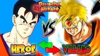 ¿Héroe o villano? DIBUJO a GOHAN del Futuro VILLANO | Dragon Ball ANTI Heroes