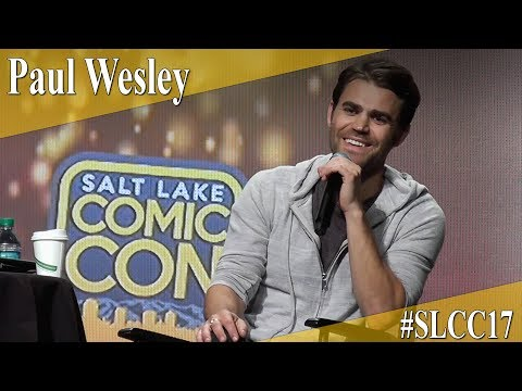 Paul Wesley - Vampire Diaries - Panel/Q&A - SLCC 2017