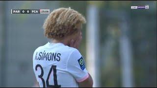 18 Years Old Xavi Simons vs Augsburg