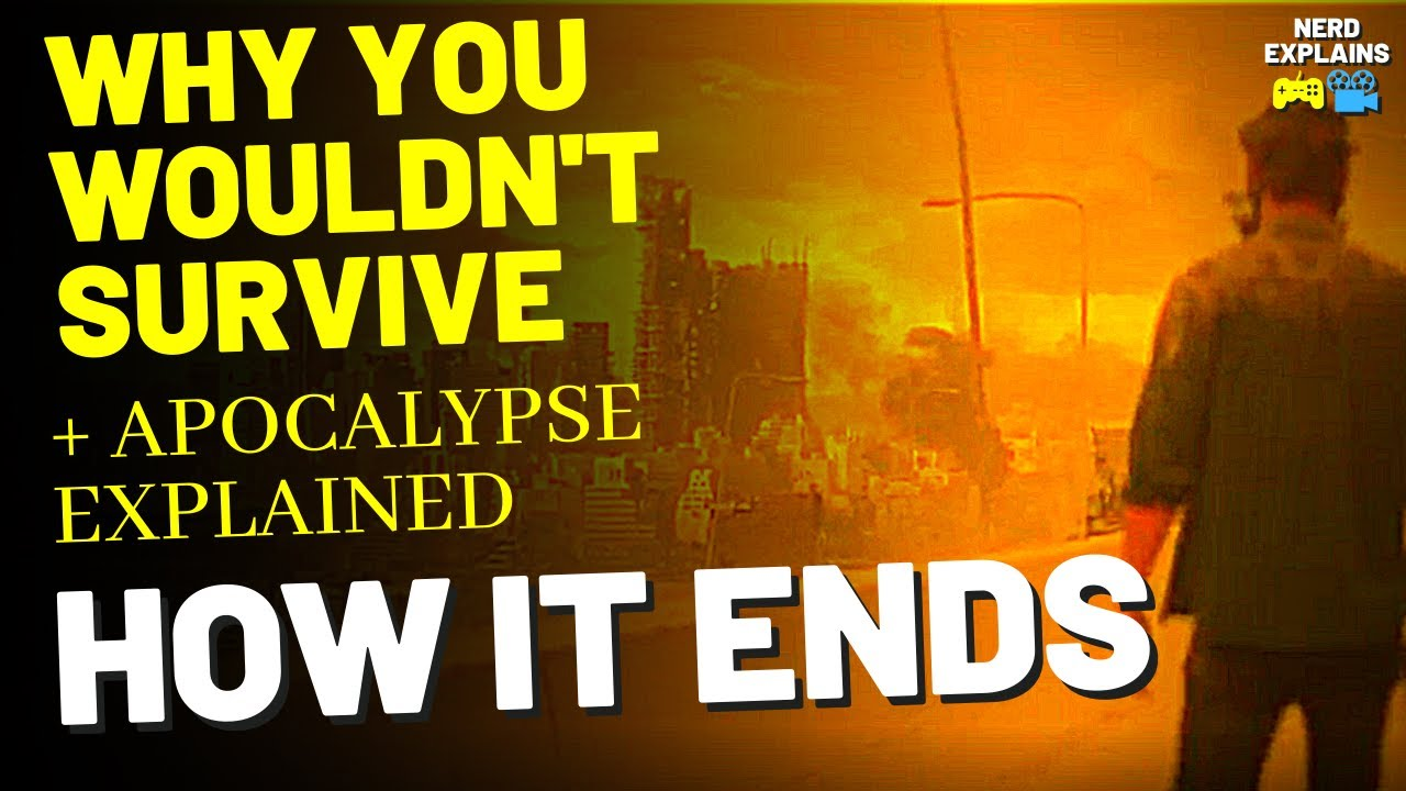 """Download Why You Wouldn't Survive """"HOW IT ENDS"""" (2018) + Apocalypse Explained"""