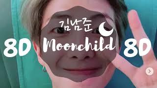 [8D AUDIO] RM (MONO) - MOONCHILD [USE HEADPHONES 🎧] | RM MONO | 8D
