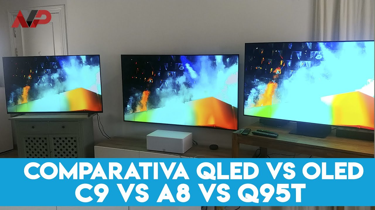 Comparativa OLED C9 vs QLED Q95T vs A8: comparamos a los grandes titanes