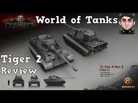 World of Tanks - Tiger 2, deutscher Stahl im Review [deutsch | Review]