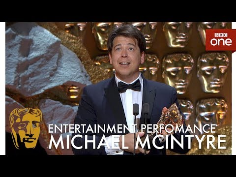 Michael McIntyre wins Best Entertainment Performance BAFTA - The British Academy Television Awards