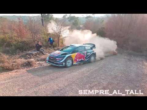 Test Elfyn Evans M-Sport Ford Fiesta WRC 25-02-2018 pre rally México 2018