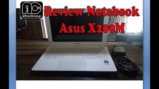 Review spesifikasi dan bentuk Notebook Asus X200M