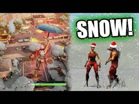 FORTNITE CHRISTMAS UPDATE! *SNOW MAP!* | Fortnite Battle Royale