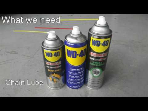 WD-40 Specialist Automotive For Motorbike, DIY and Service