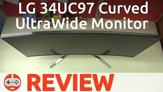 """LG 34UC97 34"""" Curved UltraWide Monitor Review - Gaming Till Disconnected"""