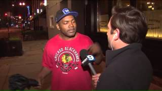 This man`s reaction to Blackhawks win is the best we`ve heard