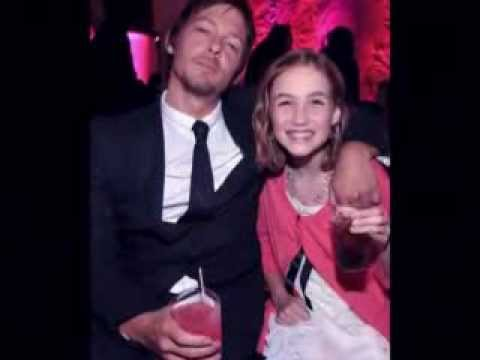 Norman Reedus & Madison Lintz