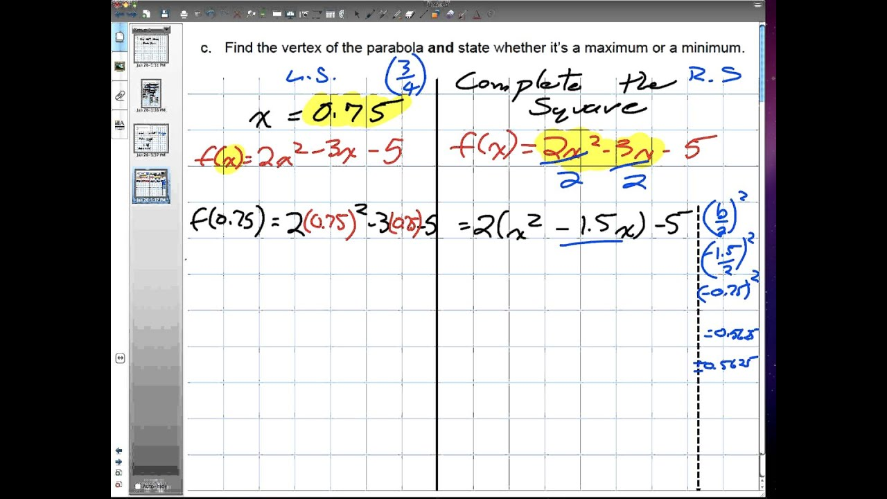 hight resolution of Financial Math