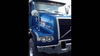 2007 Volvo VHD64F Tri-Axle Dump Truck