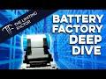 Tesla Battery Factory Deep Dive // Manufacturing Revolution