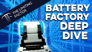 Tesla Battery Factory Deep Dive // Manufacturing Revolution