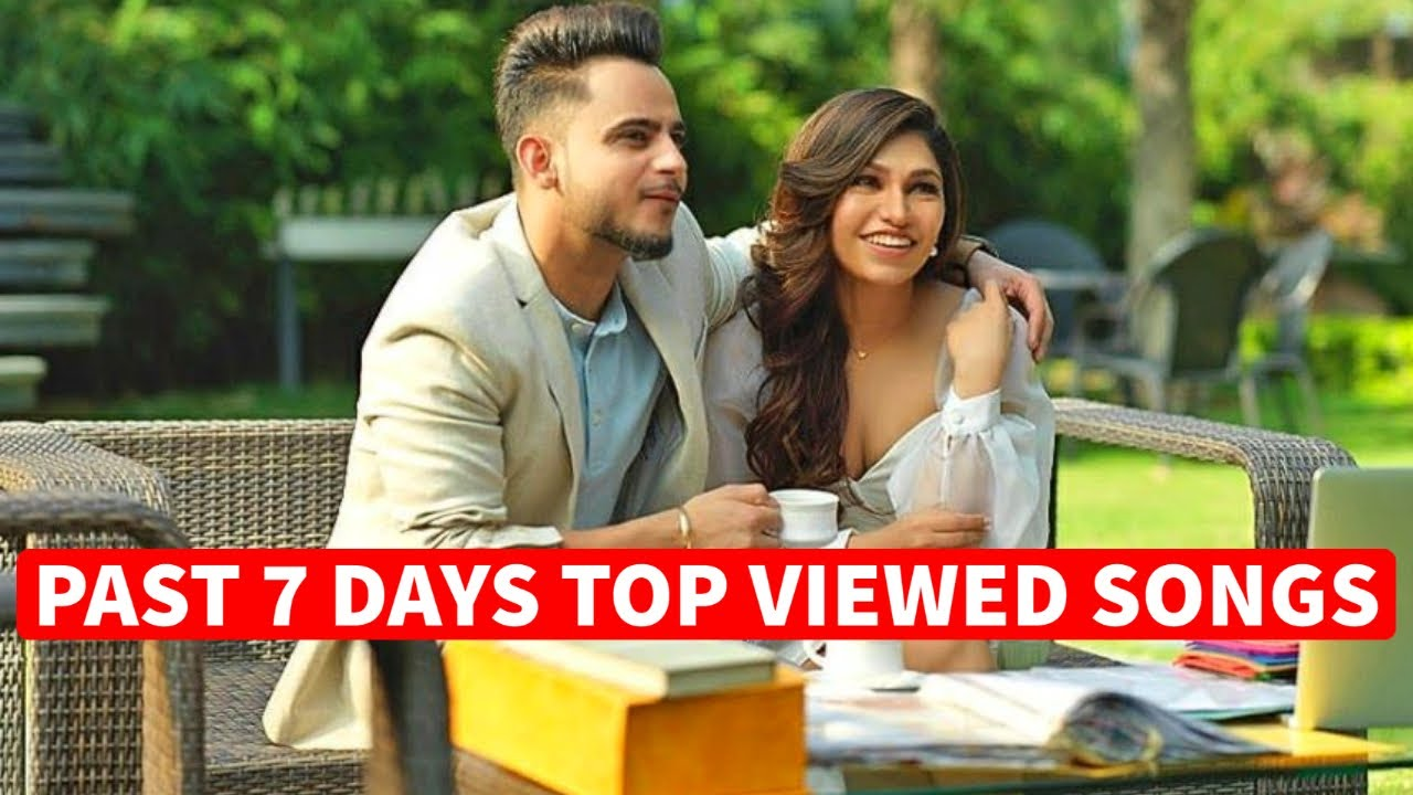 Past 7 Days Most Viewed Indian Songs on Youtube [2 August 2020]