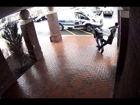Fancy Footwork by a Good Samaritan Helps Nab Armed Suspect
