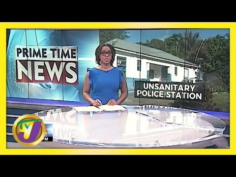 Rats & Termites Infestation at Police Station in Glengoffe in Jamaica | TVJ News