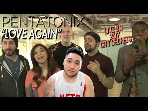REACTION FAIL | Pentatonix - Love Again (Live on 24/7 City Secrets) REACTION!!!