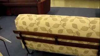 Обзор Кровать-дивана Fusion Wood cо всех сторон фабрики AFCI