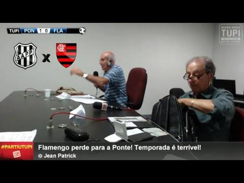Ponte Preta 1 x 0 Flamengo - 26ª Rodada - Brasileirão - 02/10/2017 - AO VIVO