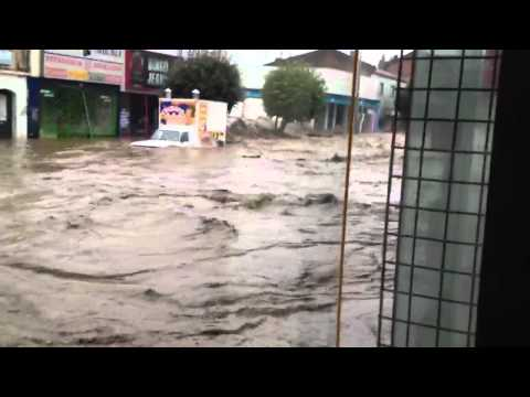 Flood Punta Arenas, Chile
