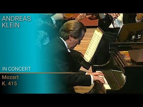 Andreas Klein performs Mozart's Piano Concerto KV415
