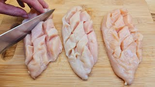Wonderful recipe for chicken breasts in the oven, quick and tasty Recipe for the whole family # 243