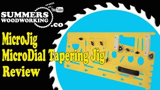 040 Microjig Microdial Tapering Jig - Tool Review