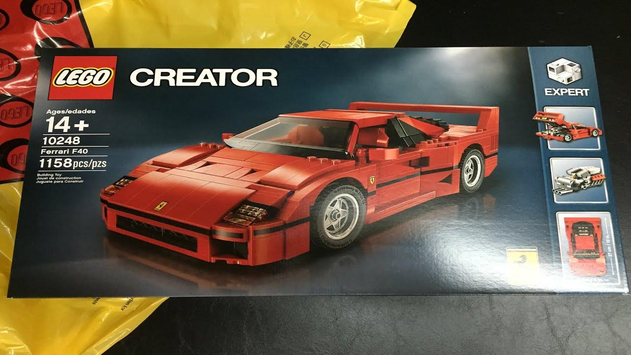 Lego Mclaren P1 Speed Champions And Ferrari F40 Vip
