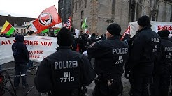Rund 500 Menschen demonstrieren in Osnabrück gegen das neue Polizeigesetz